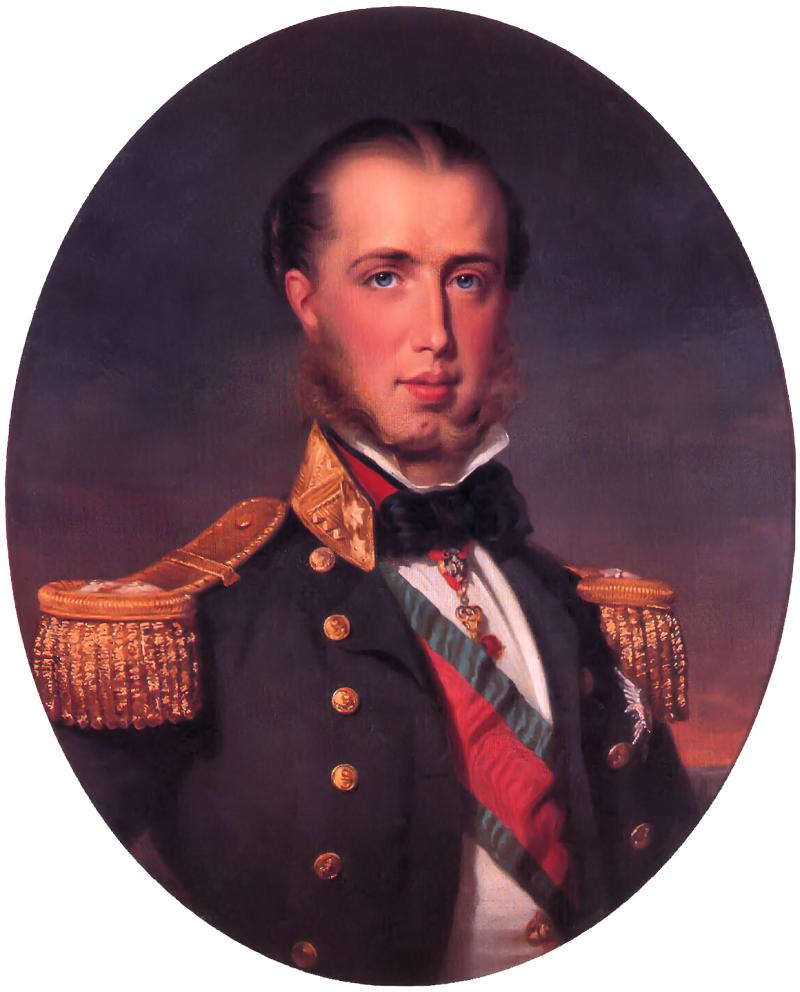 Франц Ксавье Винтерхальтер. Эрцгерцог Максимилиан.