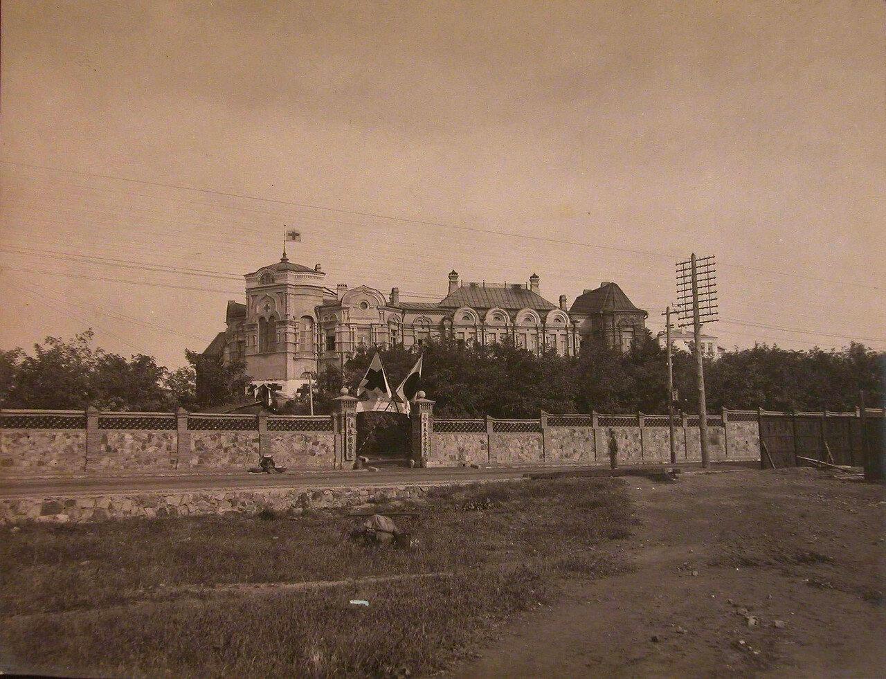04. Общий вид здания больницы