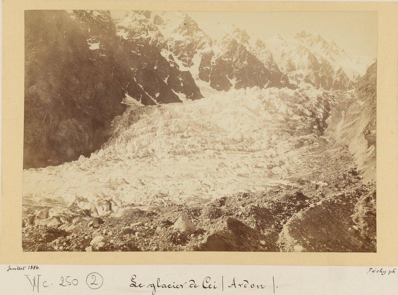 Цейский ледник в ученье р.Ардон