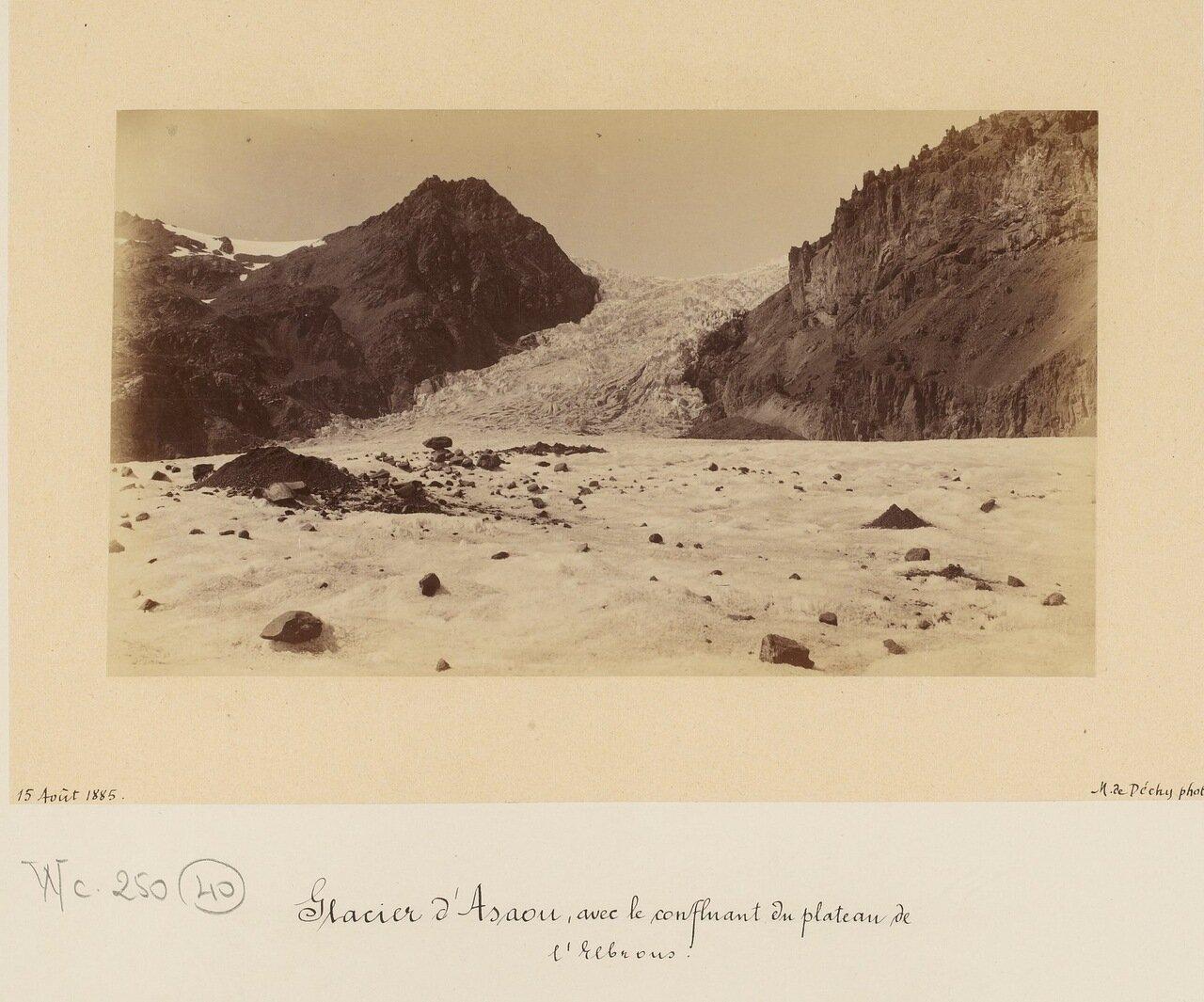 Ледник Ассау в Приэльбрусье