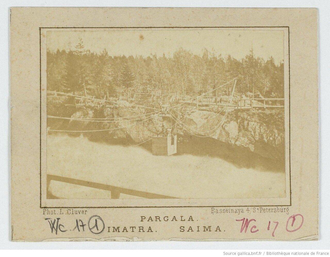 Водопад Иматра и озеро Сайма