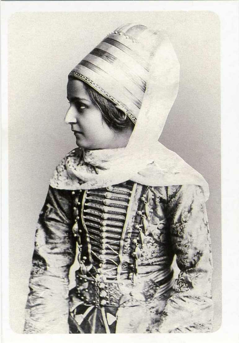 Кабардинская девушка. 1891.