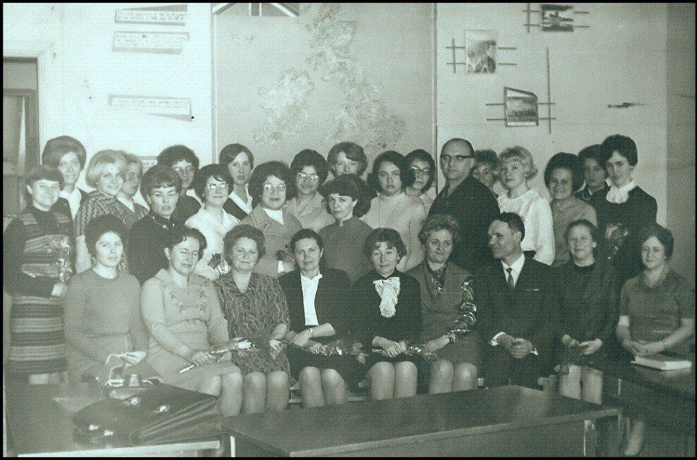 1970. Инфак. Кафедра немецкого языка