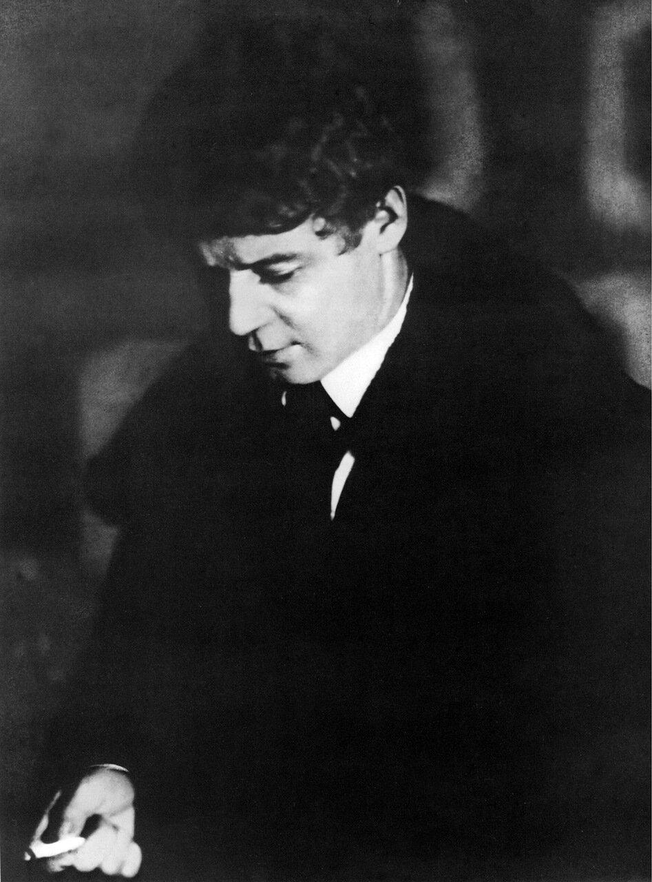 С. А. Есенин. 1924 год
