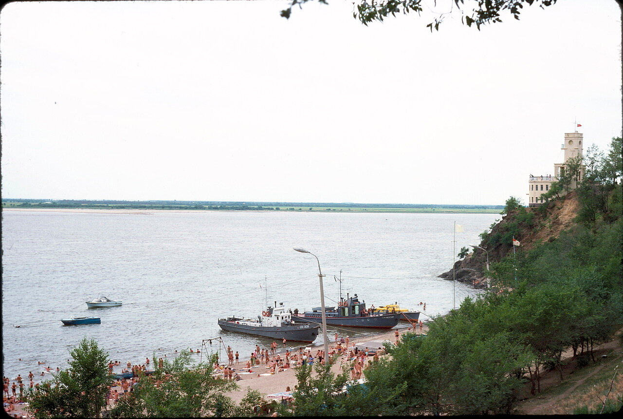 Река Амур в Хабаровске