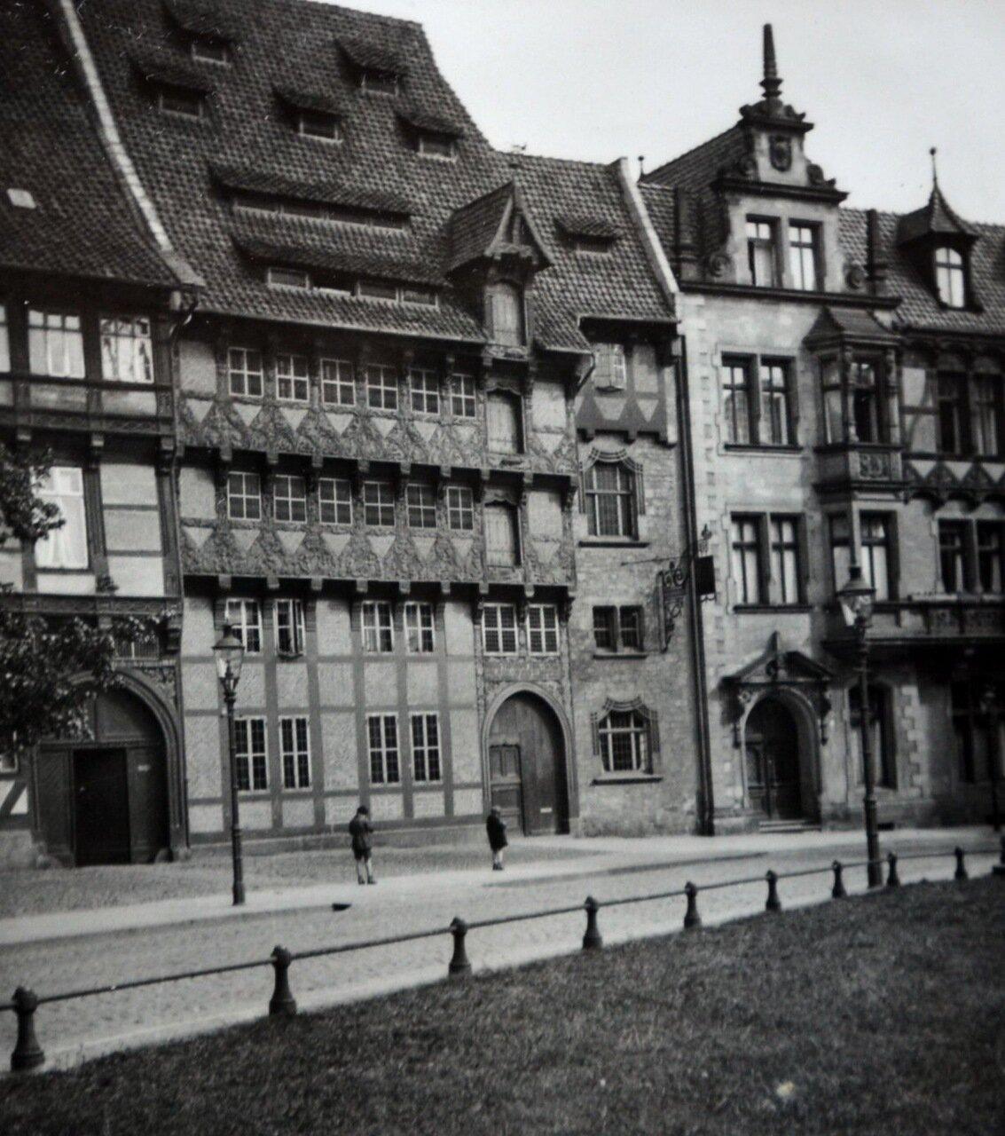 Брауншвейг. Уличная сцена в Старом городе. 1933