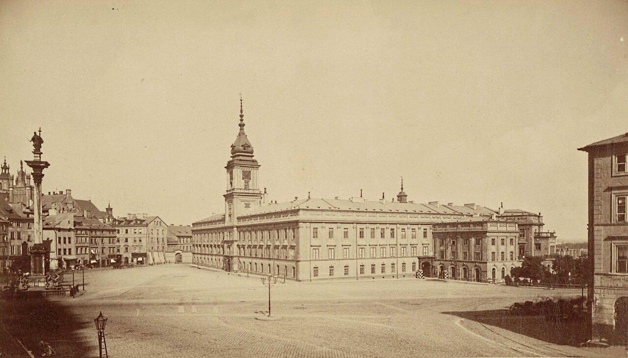 Замковая площадь 1870