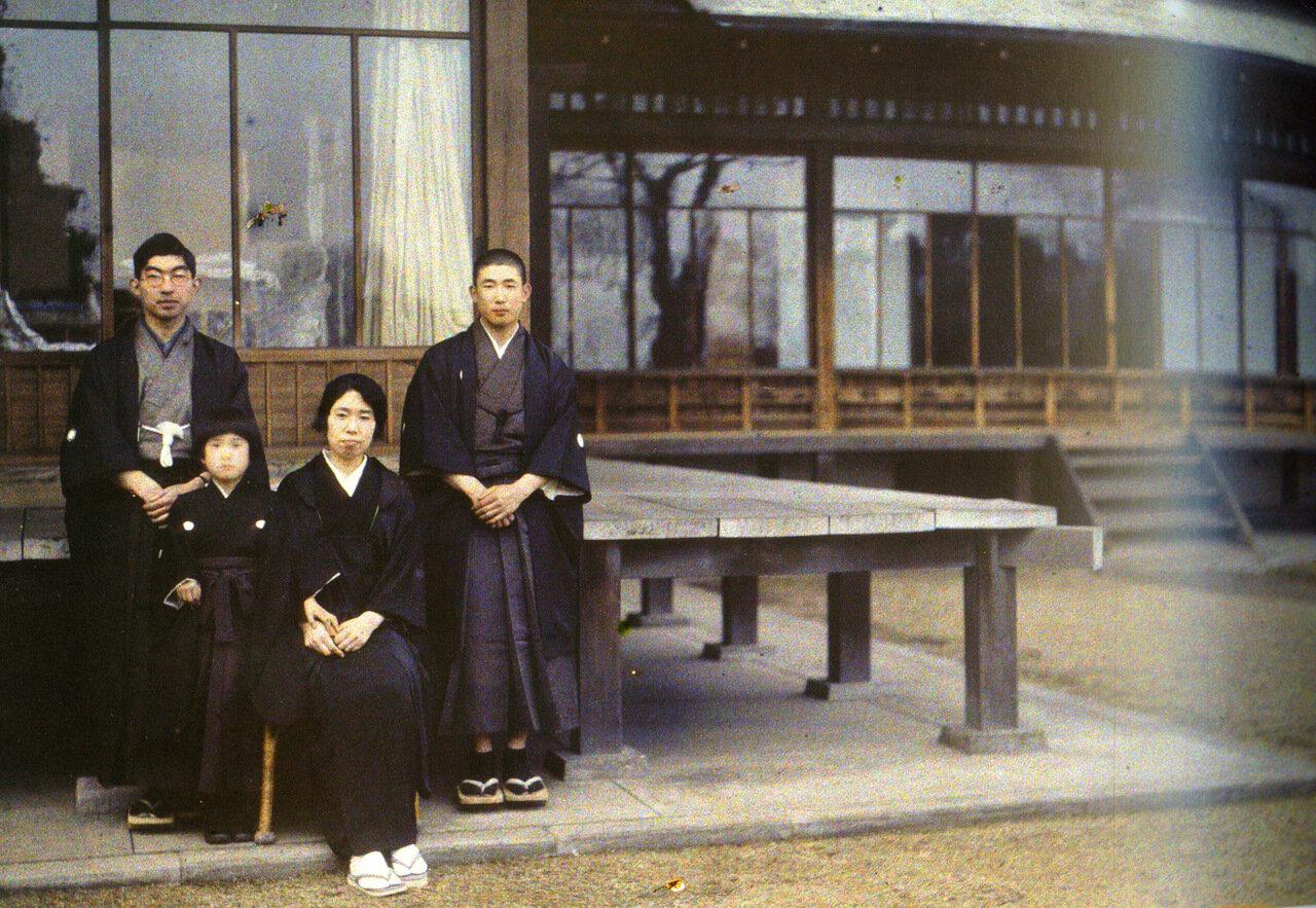 Семья Киташиракава, Токио. Фотограф Роже Дюма
