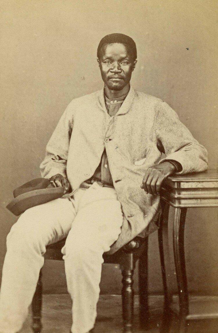 Вождь Тойсе стал вождем коса в 1845 году после смерти своего отца. Южная Африка, конец XIX века