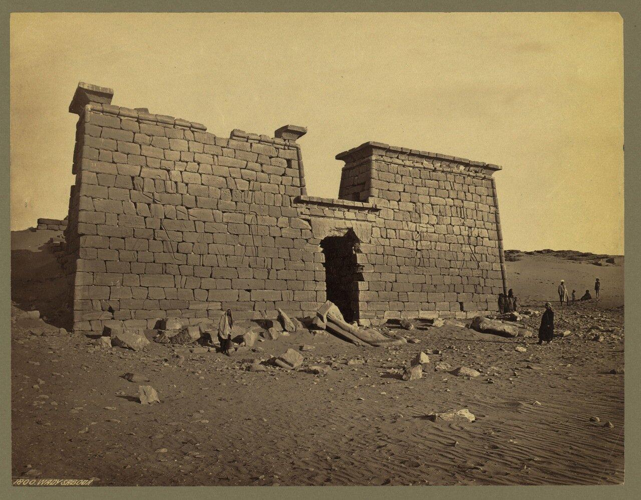 Вади Сабуа. Руины храма