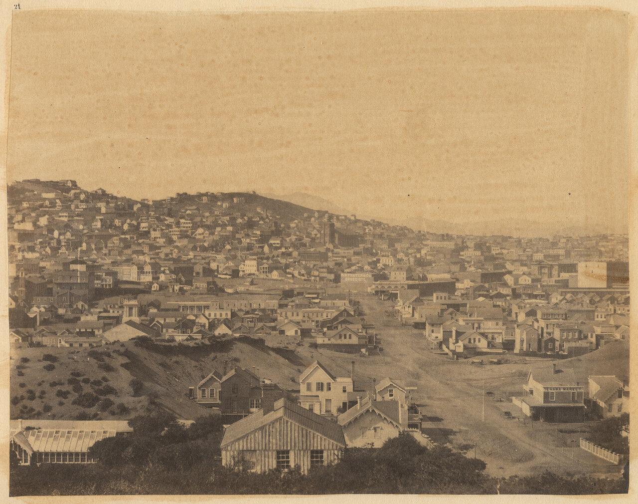 Вид на город с Харрисон-стрит