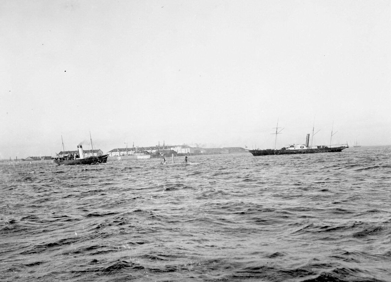 Подводная лодка «Дельфин» на испытаниях в Кронштадте