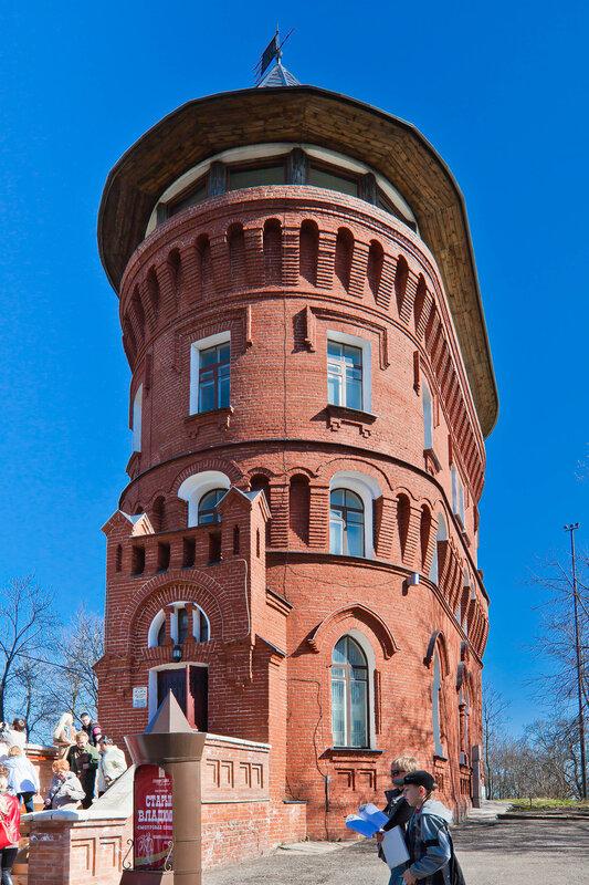 Водонапорная башня - музей Старого Владимира