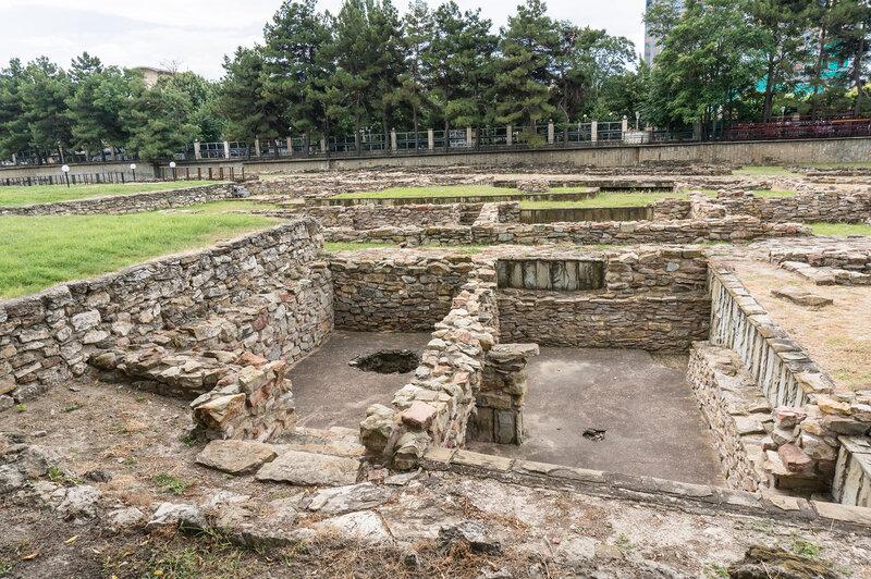 Горгиппия - античные подвалы