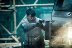 Chin Han plays Togusa in Ghost in the Shell from Paramount Pictures and DreamWorks Pictures.