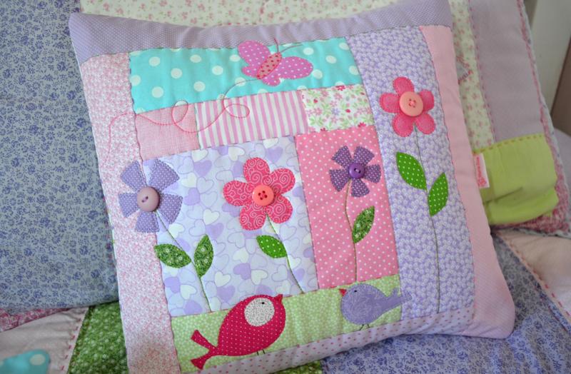 Лоскутные детские подушки