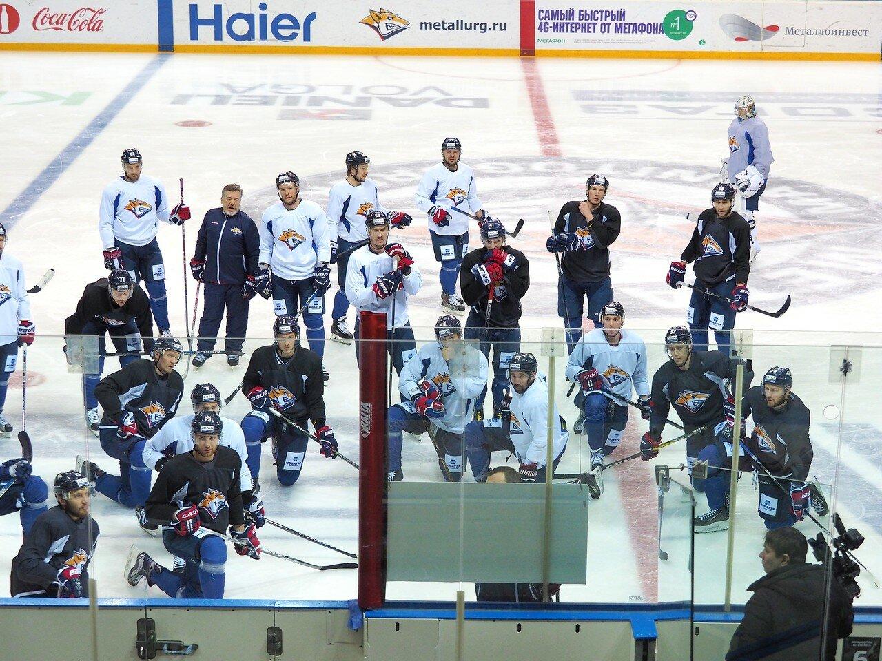 4 Открытая тренировка перед финалом плей-офф восточной конференции КХЛ 2017 22.03.2017