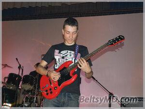 Рок-фестиваль с участием бельцкой группы «The K.N.Biss»