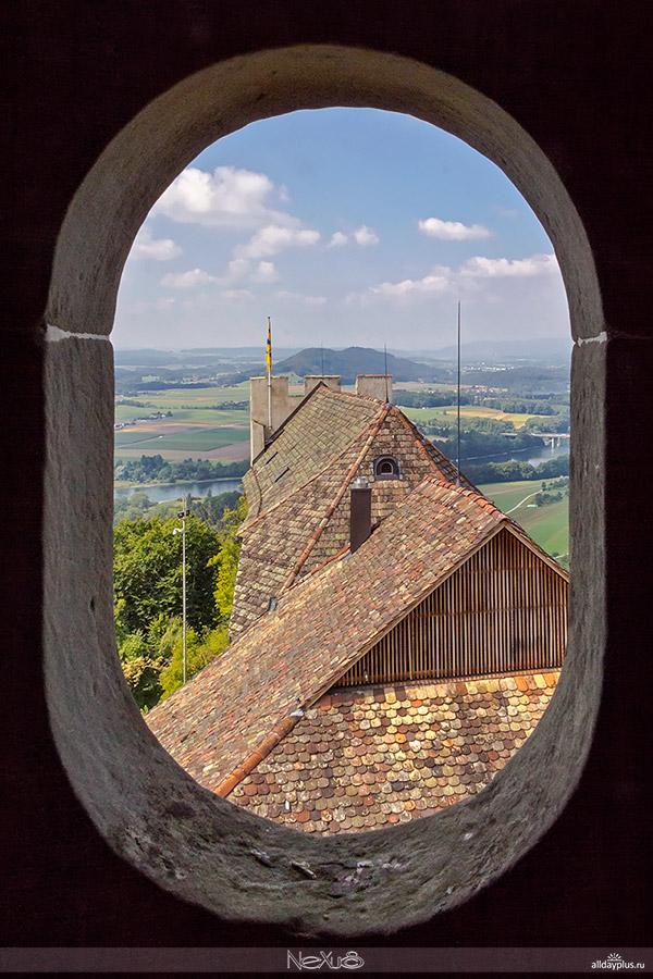 Замок Хоэнклинген, Швейцария.