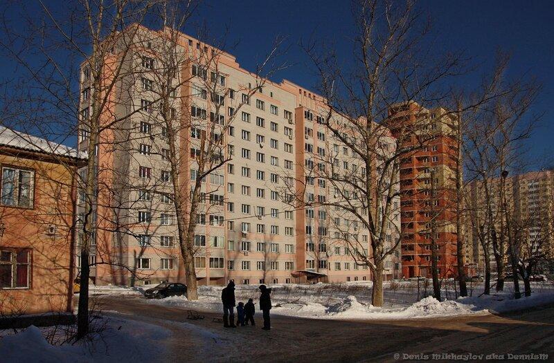 Фрязино. Улица Горького, 12, корпус 1.