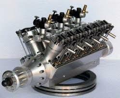 Самый маленький двигатель внутреннего сгорания в мире