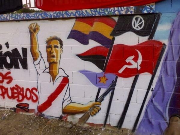 Антифа футбольные клубы испании