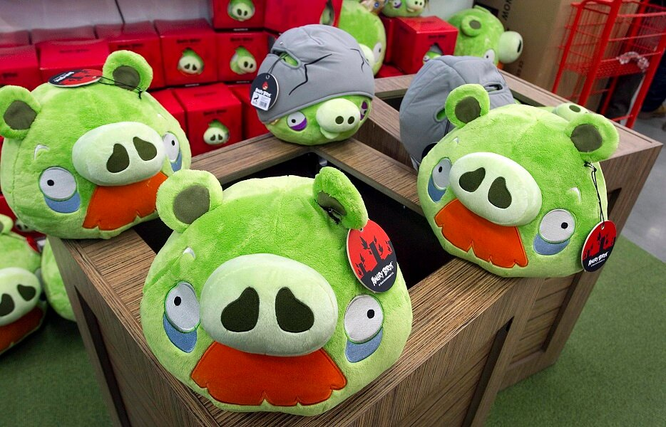 First Angry Birds Shop Opens in Helsinki