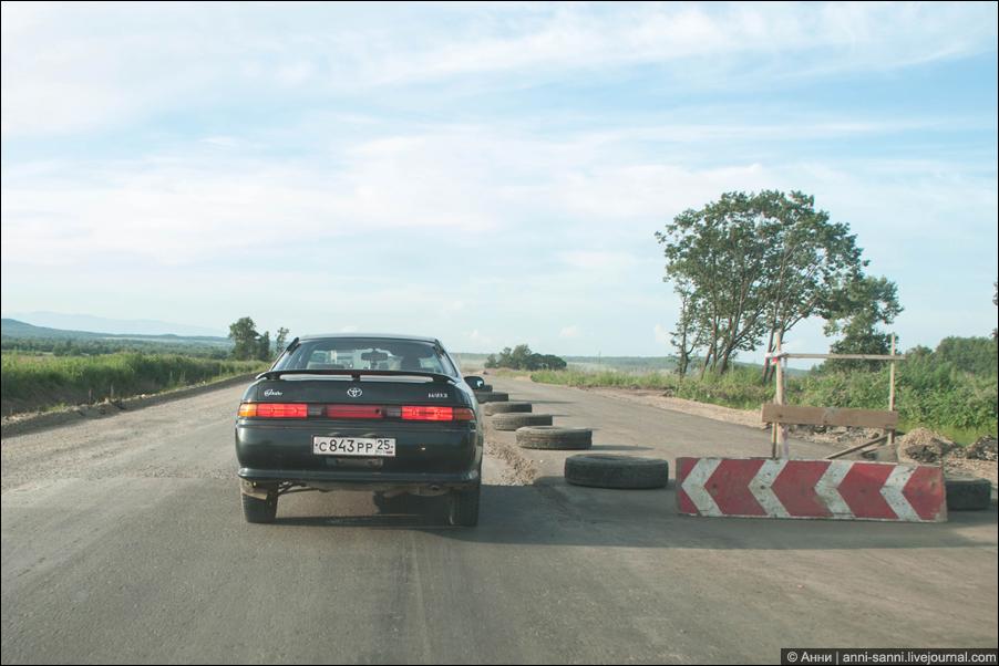 Трасса М60 - вот такое, блин, Уссури творится...