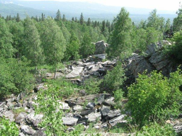 Вид с горы (14.05.2013)