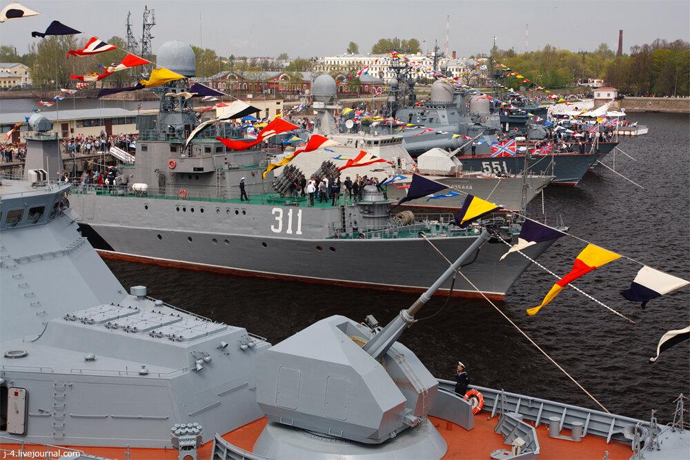 фото, Кронштадт, корабли, день флота, праздник