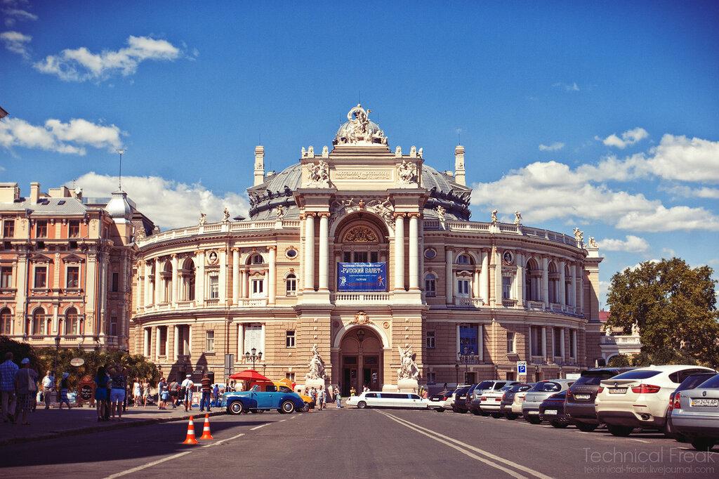 одесса, оперный театр, городское, туристическое, лето, фото, фотография