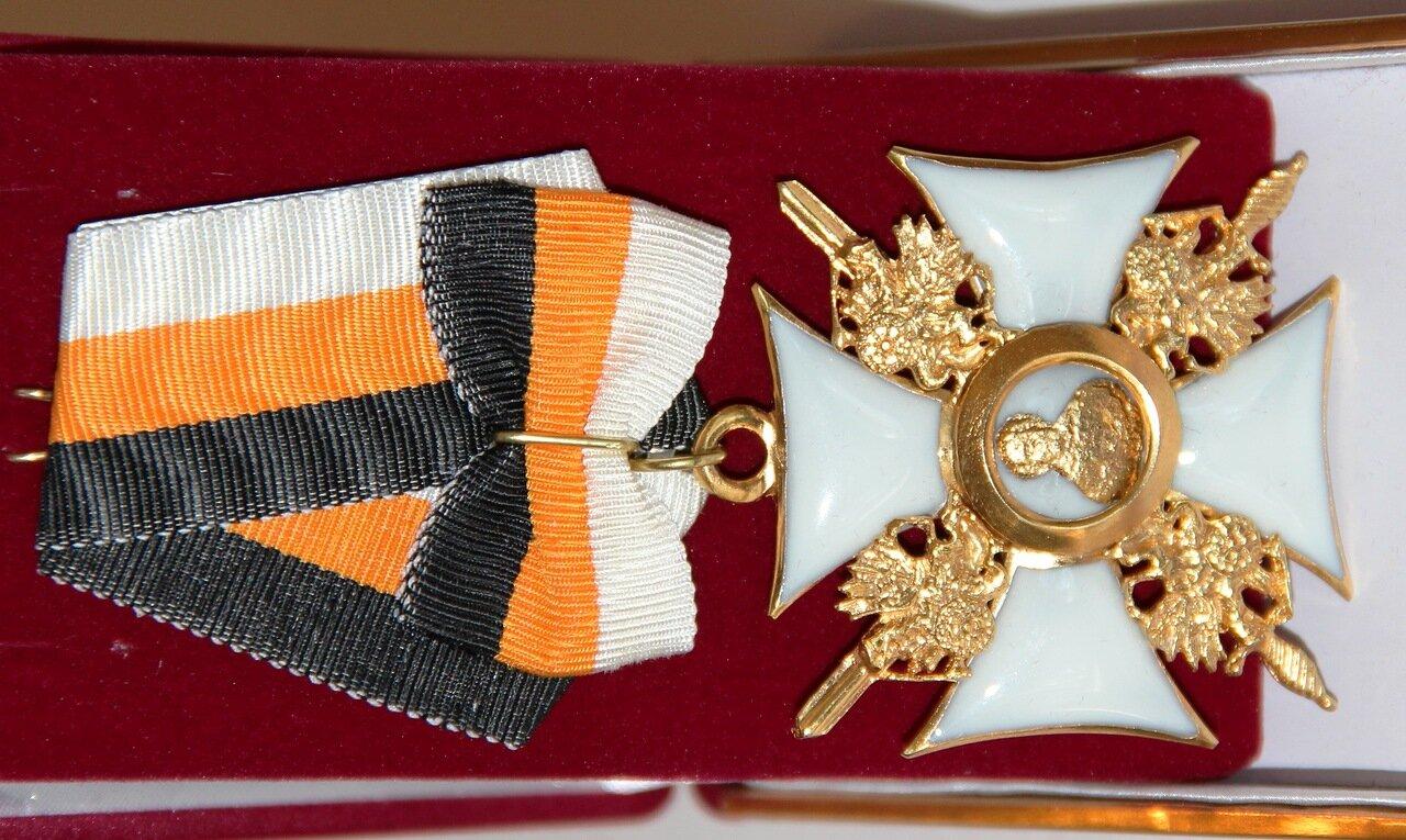 Знак ордена Св. Николая Чудотворца 1- й степени.
