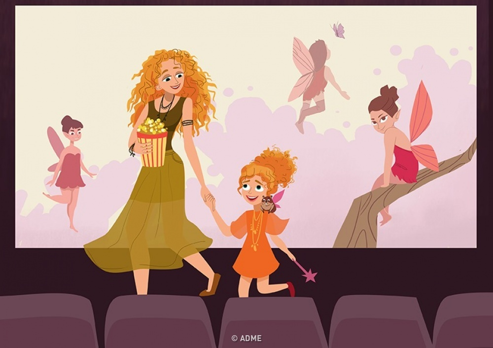 10иллюстраций отом, какое счастье быть мамой дочери (10 фото)