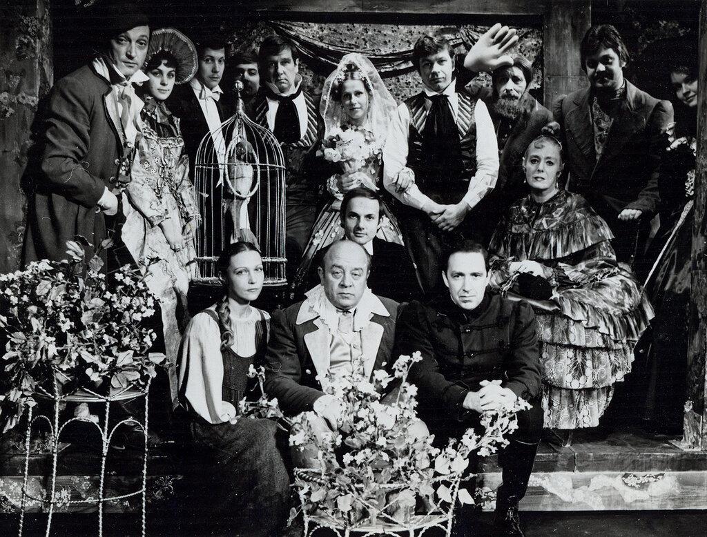 «Женитьба», режиссер Анатолий Эфрос, 1975 год.