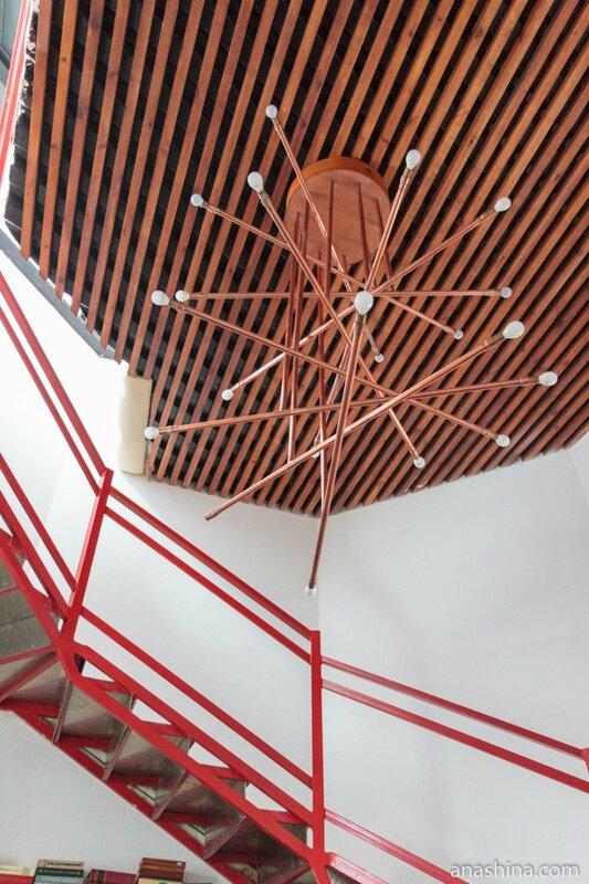 Светильник в отеле Wardenclyffe Volgo-Balt, Вытегра