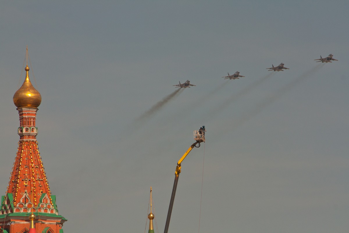 Авиапарад 9 мая 2013
