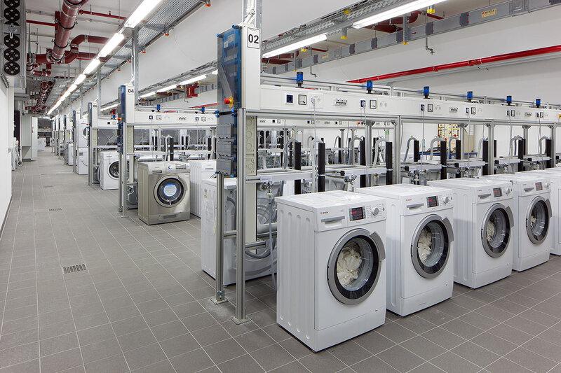 Испытание стиральных машин