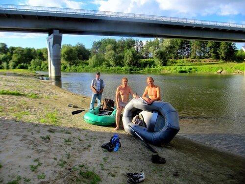На реке Хопёр. ( Фото Н.Носенко)