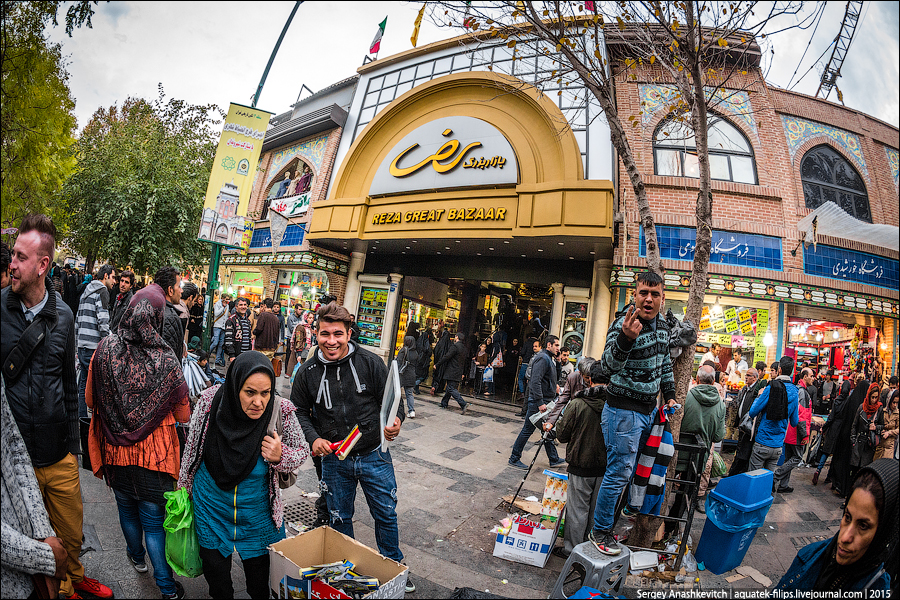 Базар Базар в Тегеране