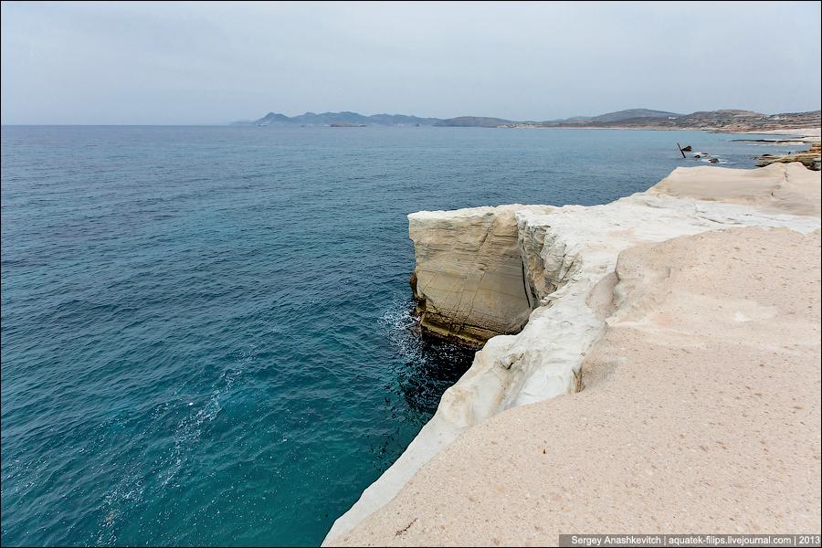 Саракинико, остров Милос