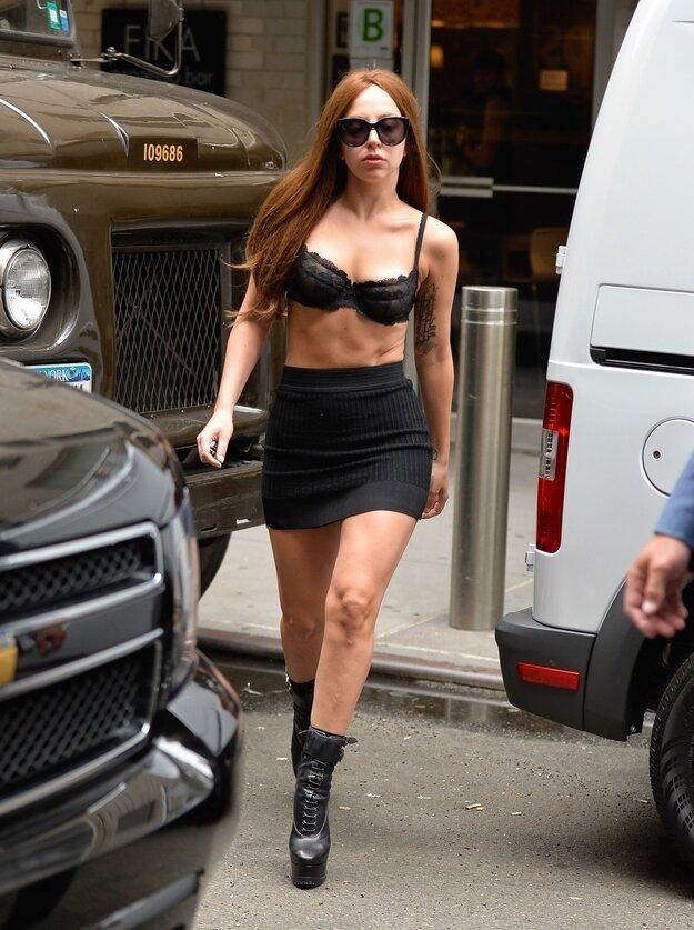 Обычная Гага в Нью-Йорке