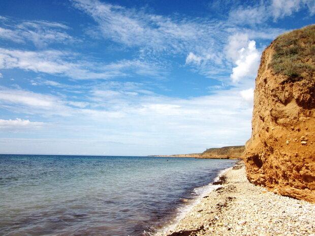 Черное море в Тарханкуте