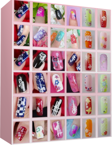 <рисунки на ногтях. фото схемы
