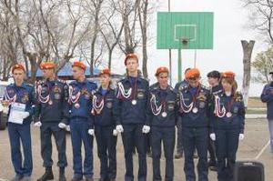 В Приморском крае прошел слет «Юный спасатель»