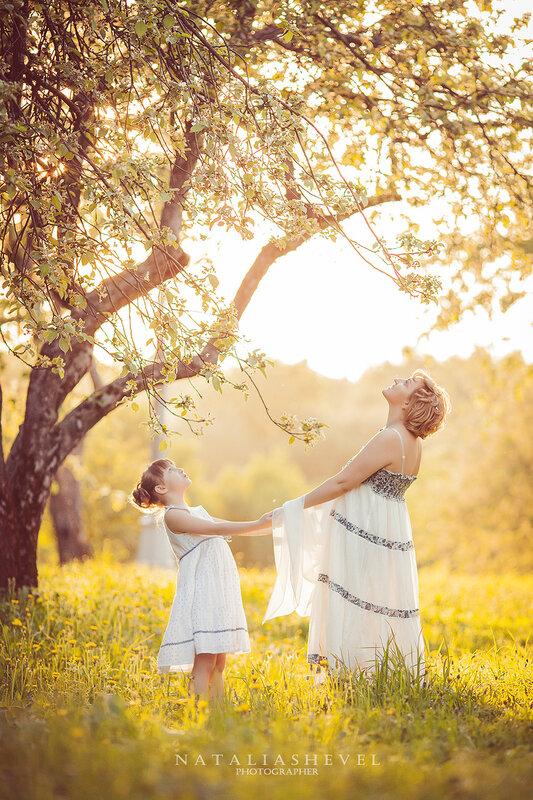 Фото в яблоневых садах 73