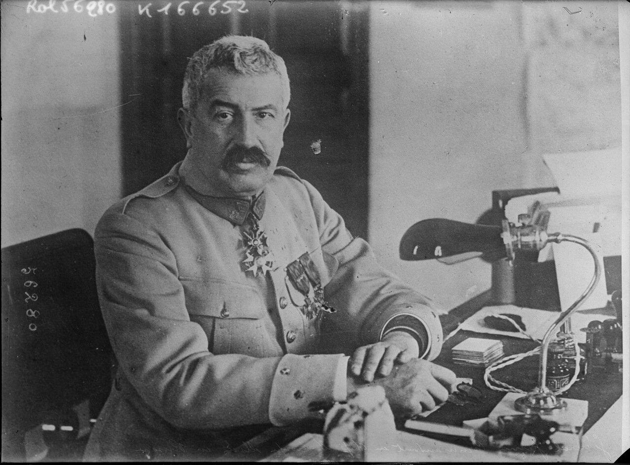 1919. Морис Жанен, главнокомандующим союзными войсками в России