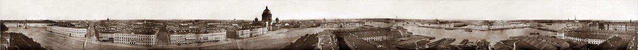 Панорама Санкт-Петербурга 1861 г