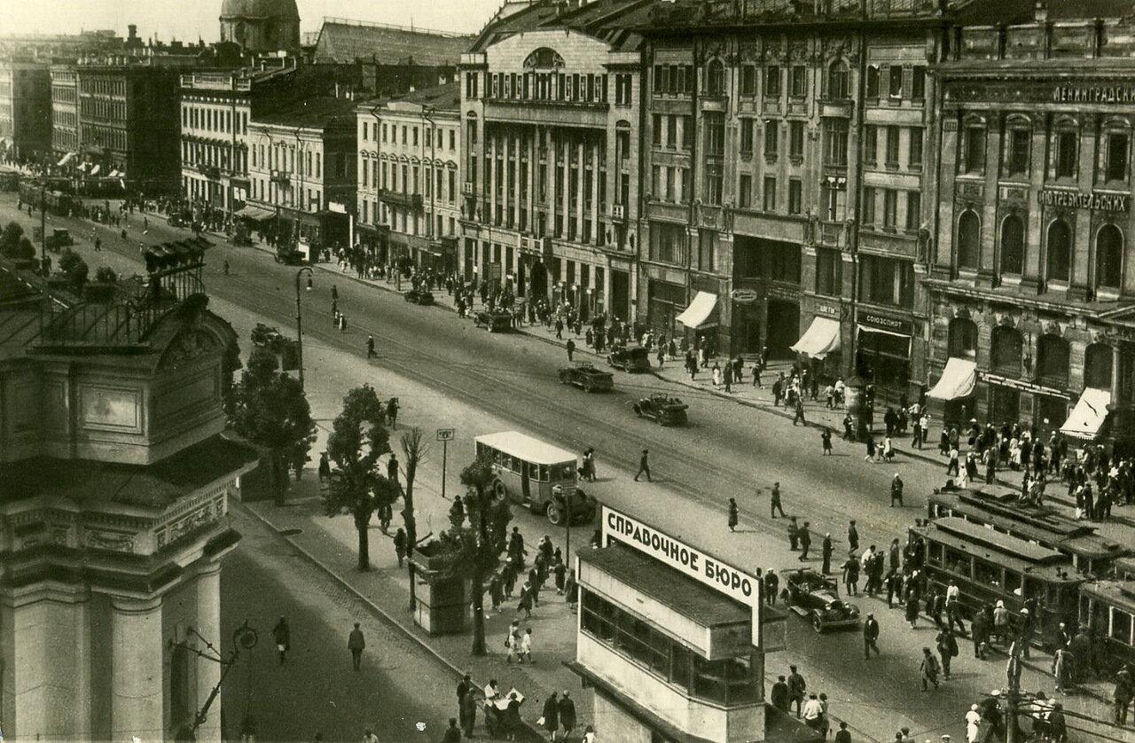 Проспект 25-го Октября. 1932 год.