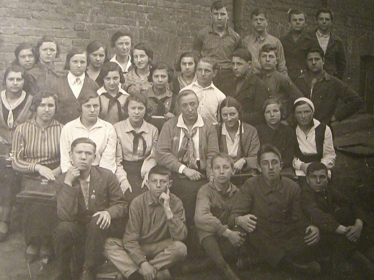 1935..Москва, школа №7 на ул Большие Каменщики
