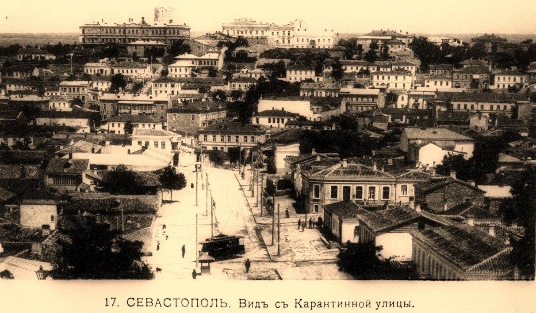 Вид с Карантинной улицы